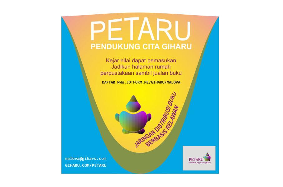 Brosur Promosi Petaru Jaringan Distribusi Buku