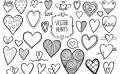 Stock Vector Heart Doodles 519209203 1 E1505282481665