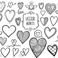 Stock Vector Heart Doodles 519209203 1 E1505282481665